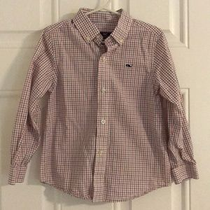Vineyard Vines Boys 4T check shirt